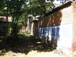 Typowe zabudowy w Chenjiagou