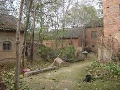 Typowa zabudowa w Chenjiagou