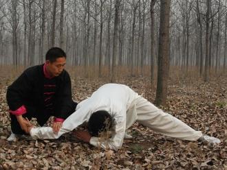 Podczas zdjęć do filmu instruktażowego (Chen Ziqiang)