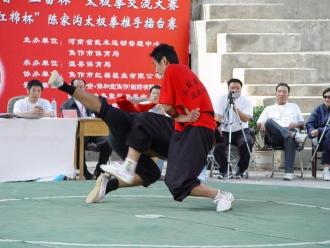 Turniej Tui Shou w Wenxian
